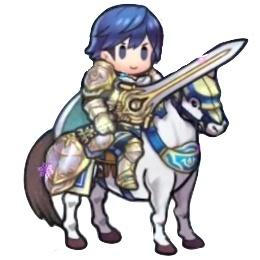 騎馬クロムのミニキャラ
