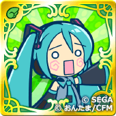 はちゅねミク(緑)の画像