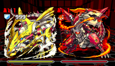 火と光の機甲龍の7F