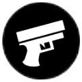 銃のアイコン
