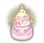饅頭ケーキの画像