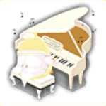 ピアノ饅頭の画像