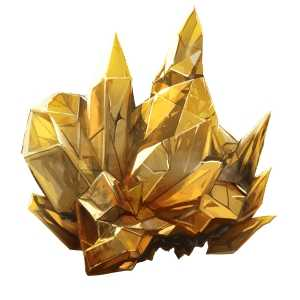金色の外殻の画像