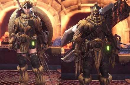 Jagras Layered Armor