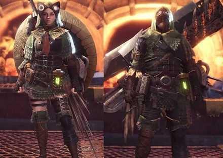 Pukei Alpha Layered Armor