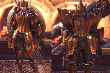 Barroth Layered Armor