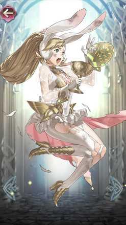 シャロン(春色のアスク王女)の立ち絵