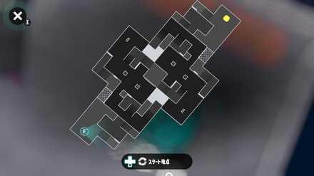 ミステリーゾーンのマップ画像