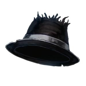 氷の使者の帽子の画像