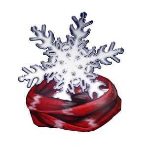 氷の使者のマフラーの画像