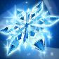 星雪の結晶の画像