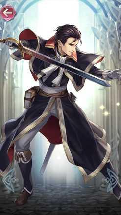 ラインハルト(雷神の剣)の立ち絵