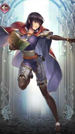 オルエン(緑の魔道騎士)の立ち絵