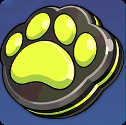 黒猫スタンプの画像