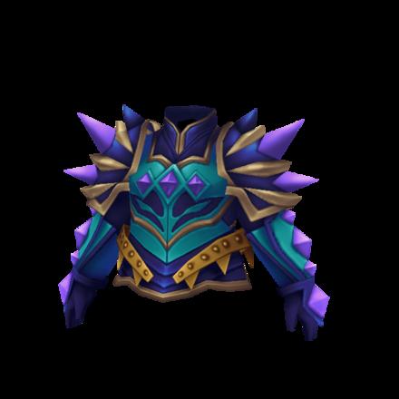 紫虹馬の鎧のメンズ画像