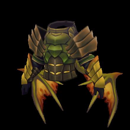 滅竜の鎧のメンズ画像