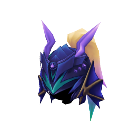 紫虹馬のヘルムの画像