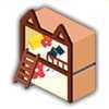 ダブルネコベッドの画像