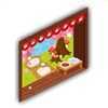 ネコ庭の画像