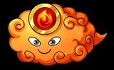 火の雲精の画像