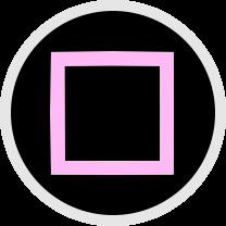 四角ボタン