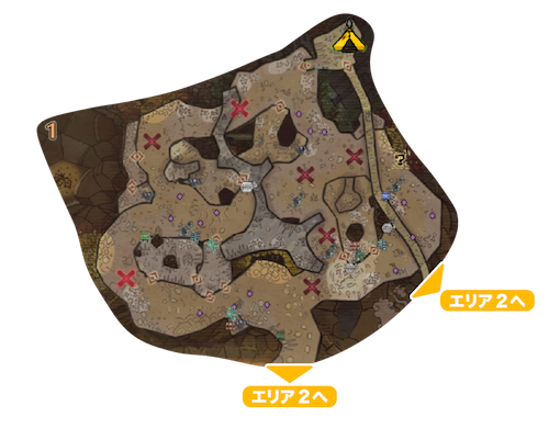地脈の黄金郷エリア1の画像