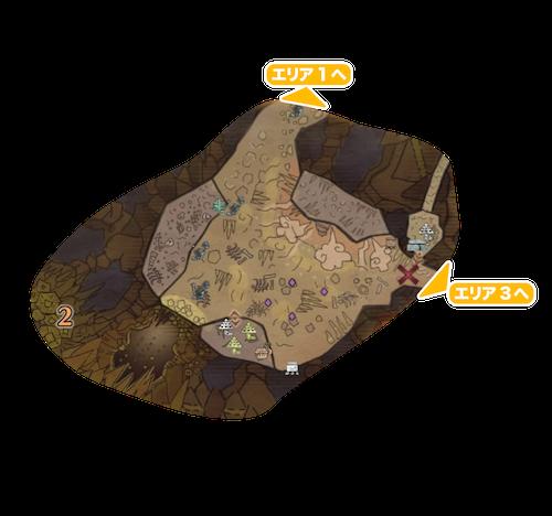 地脈の黄金郷エリア2の画像