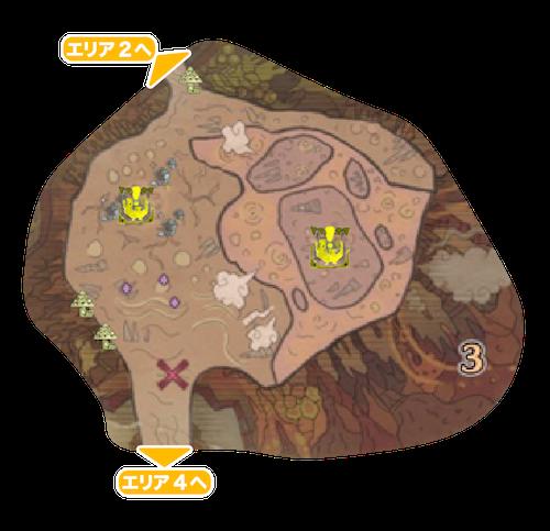 地脈の黄金郷エリア3の画像