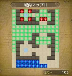 城内マップⅡ画像