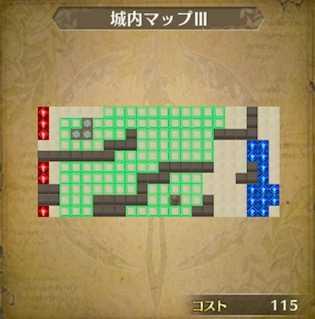 城内マップⅢ画像