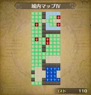 城内マップⅣ画像