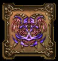 暗黒神ラプソーンの紋章・頭のアイコン
