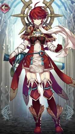 ヒノカ(蒼天の戦姫)の立ち絵