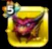 深紅巨竜の兜