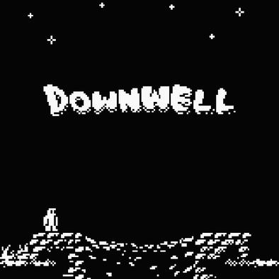 Downwellタイトル画像
