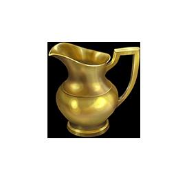 黄金の水差しの画像