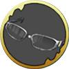クマ特製メガネの画像