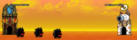 奇跡の虹マタタビ EXのステージ画像