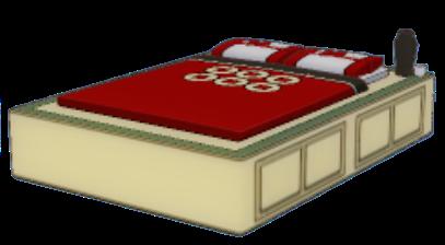 浮世ベッドの画像