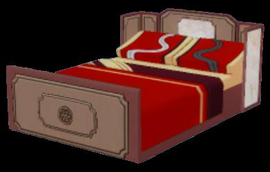 仙境ベッドの画像
