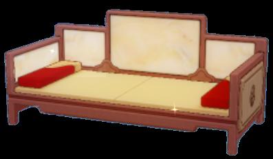 仙境長椅子の画像