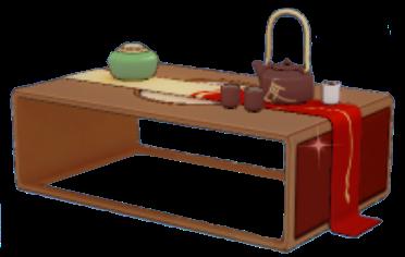 仙境ローテーブルの画像