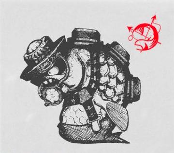 バクダンの図鑑画像