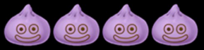 4人スライム紫芋まん