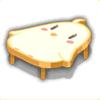 饅頭テーブルの画像