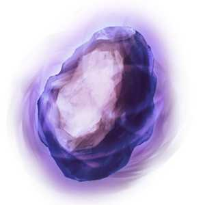 夢幻光の紫石の画像