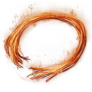 夢幻光の橙糸の画像