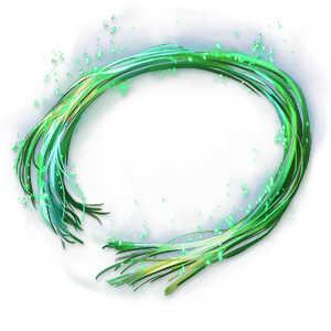 夢幻光の緑糸の画像