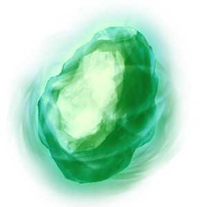 夢幻光の緑石の画像