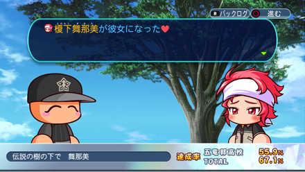 舞那美:伝説の樹の下で